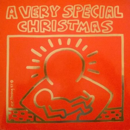 A Very Special Christmas.Keith Haring Vinyl Record A Very Special Christmas